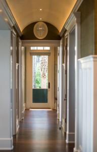 Barrier Island home hallway