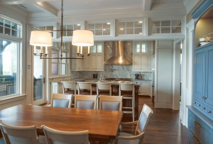 Barrier Island home kitchen
