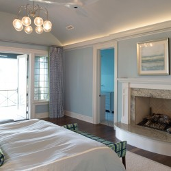 Barrier Island home bedroom