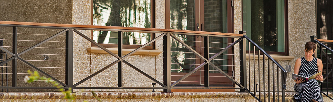 exterior millwork banner image, back porch of home
