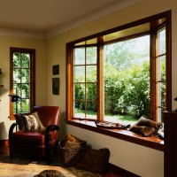 400 Series Casement Bay Windows, Colonial Grilles, Estate Hardware Collection
