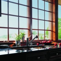 400 Series Casement Windows, Colonial Grilles, Estate Series Hardware