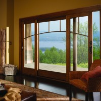 A-Series Frenchwood Gliding Patio Doors