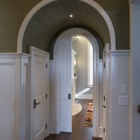 interior hallway arch