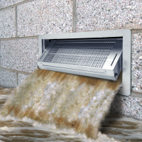 smart vent pouring water
